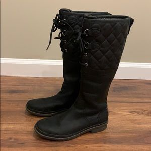 Ugg Elsa Quilted Leather Boots